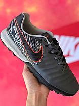 Сороконожки Nike Tiempo Victory Pack/многошиповки найк темпо виктори пак/тиемпо/бампы лигера, фото 2
