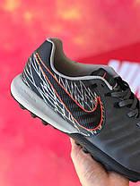 Сороконожки Nike Tiempo Victory Pack/многошиповки найк темпо виктори пак/тиемпо/бампы лигера, фото 3