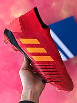 Бутсы Adidas Predator 18+FG/адидас предатор/копы/футбольная обувь, фото 2