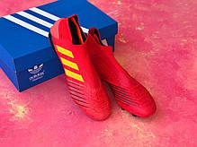 Бутсы Adidas Predator 18+FG/адидас предатор/копы/футбольная обувь, фото 3
