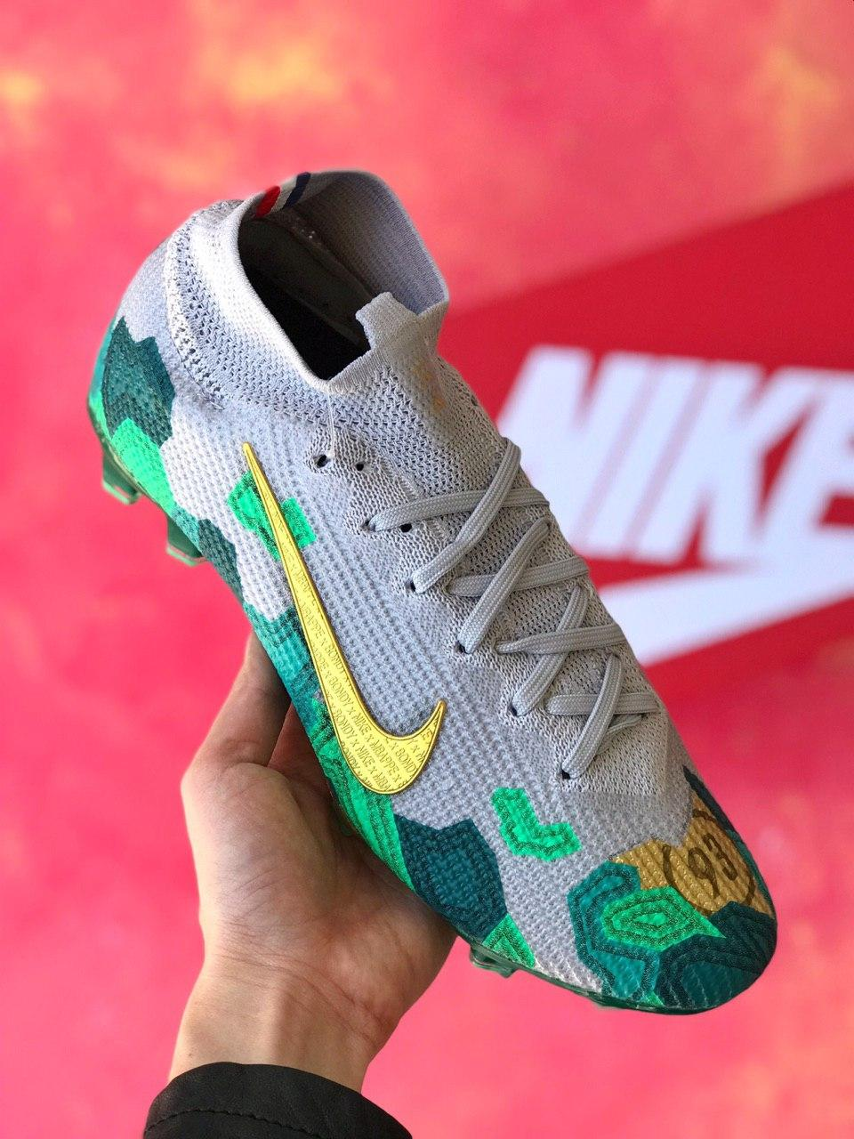 Бутсы Килиана Мбаппе Nike Mercurial Superfly 7/найк меркуриал суперфлай/ копы
