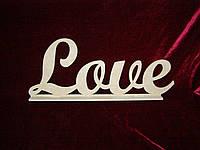 Love на подставке (50 х 18 см), декор