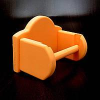 "Тримач для туалетного паперу ""Вольфрам"" грейпфрут, фото 1"