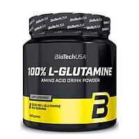 Амінокислота BioTech 100% L-Glutamine, 240 грам