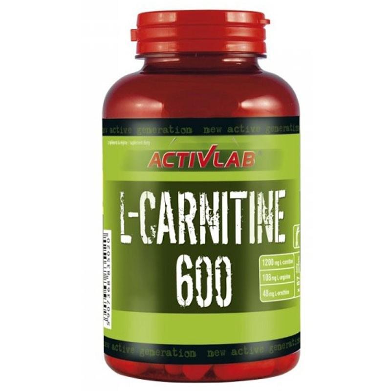 Жиросжигатель ActivLab L-Carnitine 600, 60 капсул