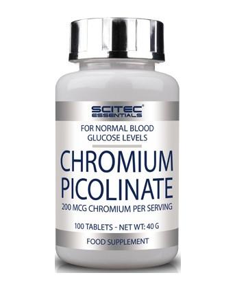 Витамины и минералы Scitec Chromium Picolinate, 100 таблеток