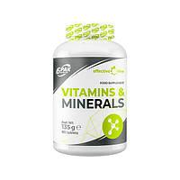 Витамины и минералы 6PAK Nutrition Vitamins and Minerals, 90 таблеток