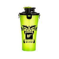 Шейкер IronFlex Hydra Cup Drakon 828 мл, зеленый