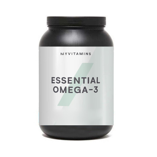 Жирные кислоты MyProtein Essential Omega 3, 1000 капсул