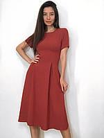 Летнее платье-миди из льна, фото 1