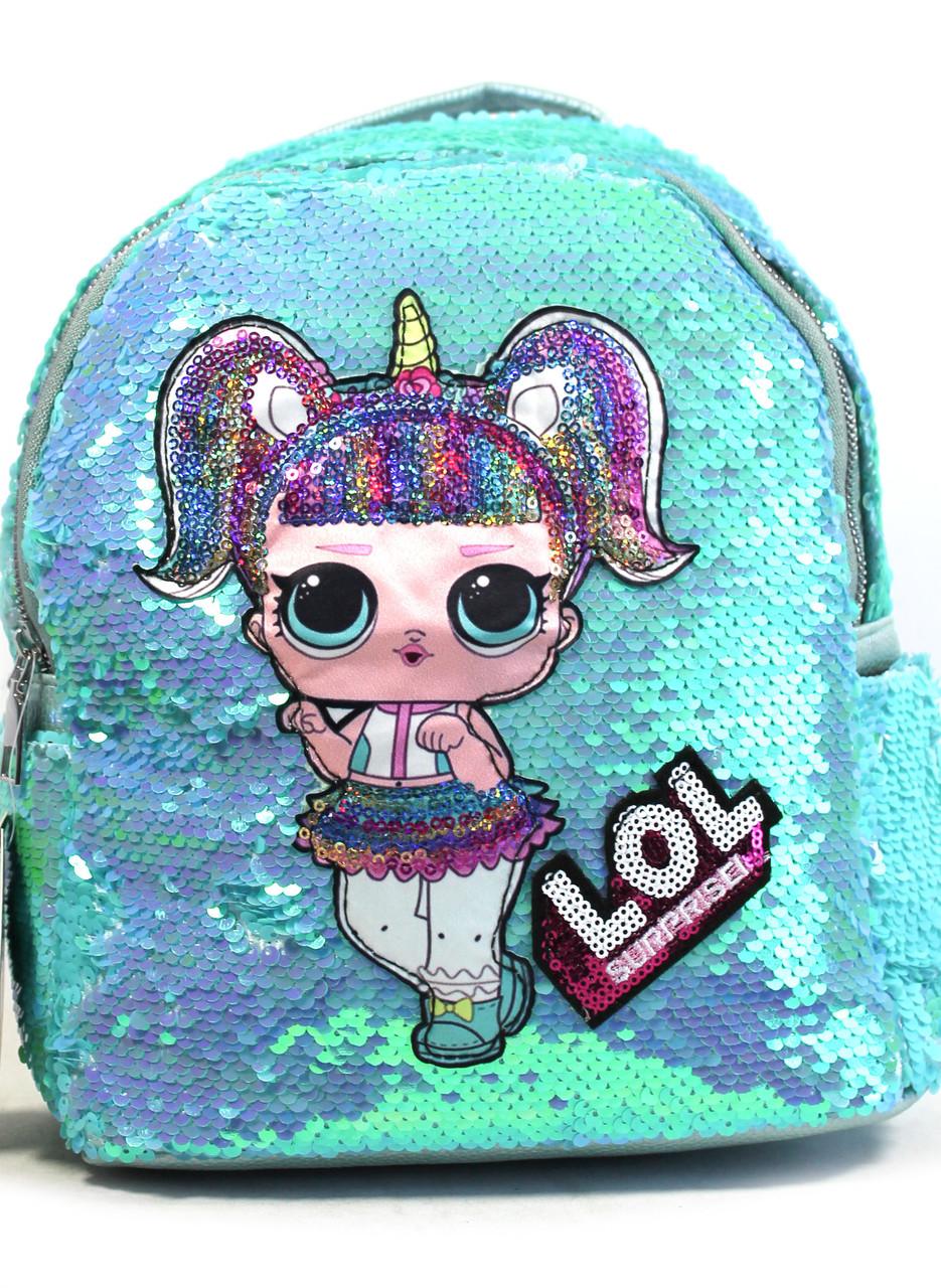 """Детский рюкзак для девочек """"NingmengCao"""" ЛОЛ 1500"""