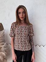 Женская летняя блузка из штапеля, фото 1