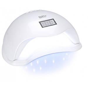 LED UV лід уф лампа Sun5 сан5 48вт для нарощування нігтів, гель лак Біла