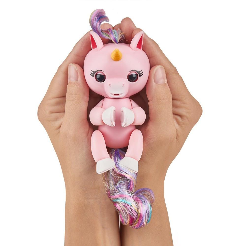 Інтерактивний єдиноріг Fingerlings - виконує дії, видає звуки Рожевий (Гема) (Fingerlings єдиноріг/pink)