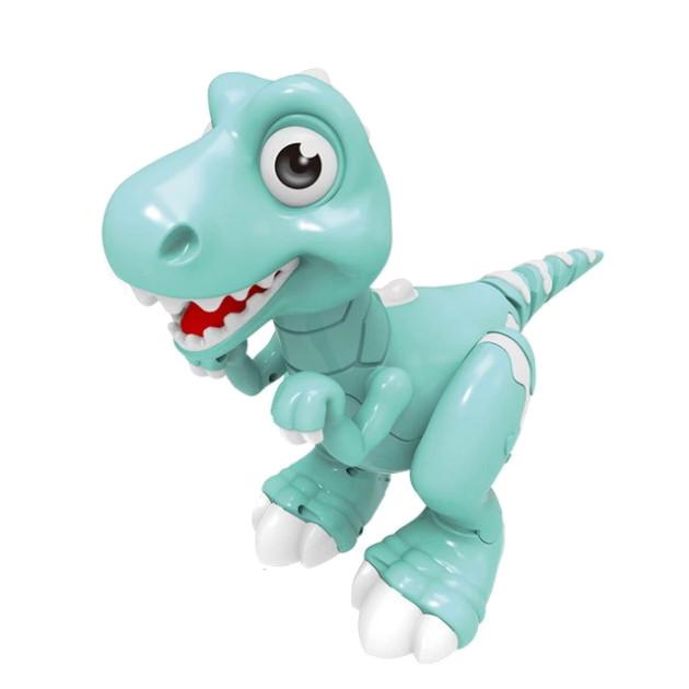 Интерактивный Smart Динозавр Jiabaile OR на радиоуправлении, издает звуки, пускает пар (Smart динозавр)