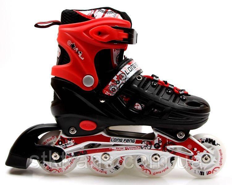 Роликовые коньки Scale Sports 29-33 Red (1352221228-S)