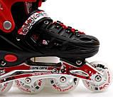 Роликовые коньки Scale Sports 29-33 Red (1352221228-S), фото 2