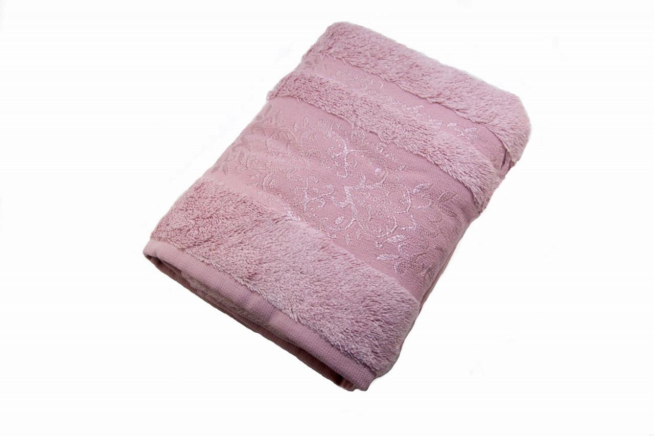 Полотенце махровое Zeron Бамбук 70х140 светло-розовый