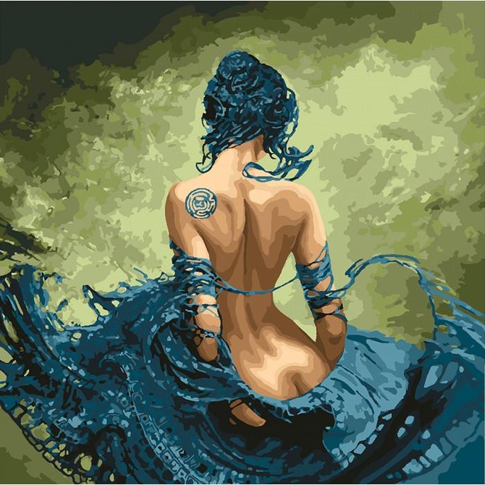 Картина по номерам Идейка - Откровенность 40x40 см (КНО4691)