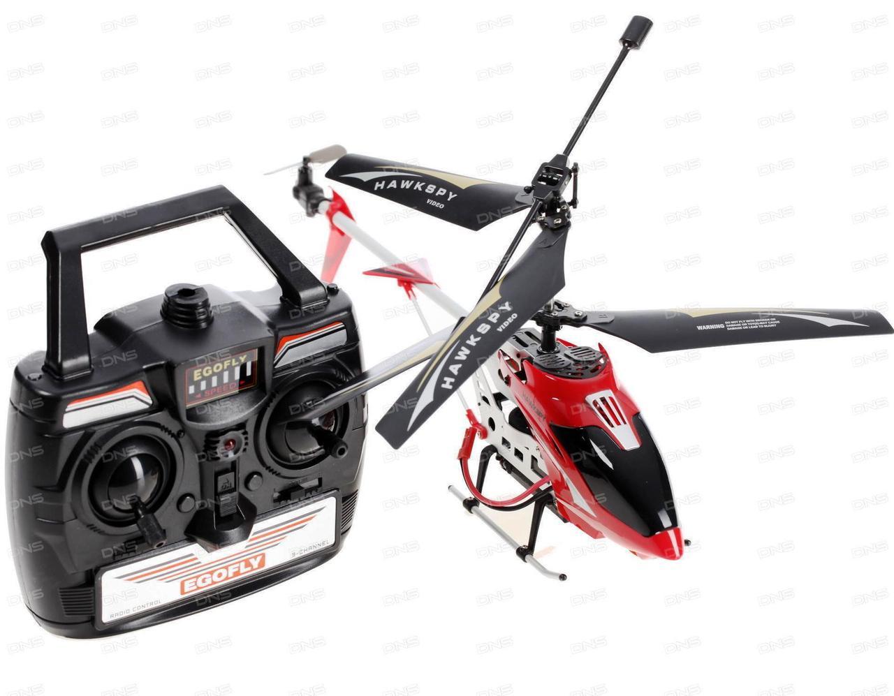 Радиоуправляемый вертолет Hawkspy LT-712 с видеокамерой