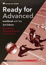 Ready for Advanced 3rd Edition Workbook with key and Audio CD / Тетрадь с ключами и диском