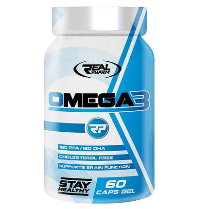 Real Pharm Omega 3 1000 mg - softgel 60, фото 2