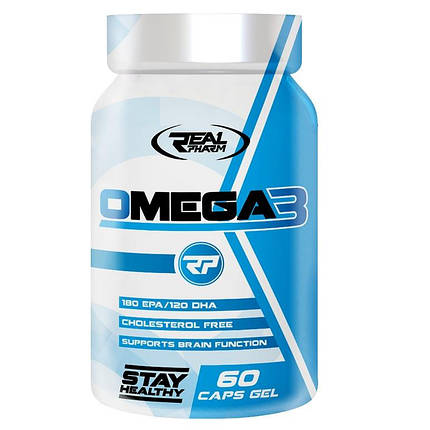 Real Pharm Omega 3 1000 mg - 60 softgel, фото 2