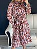 Женское платье с принтом, ткань: софт. Размер: 42-46. Разные цвета (1890), фото 2