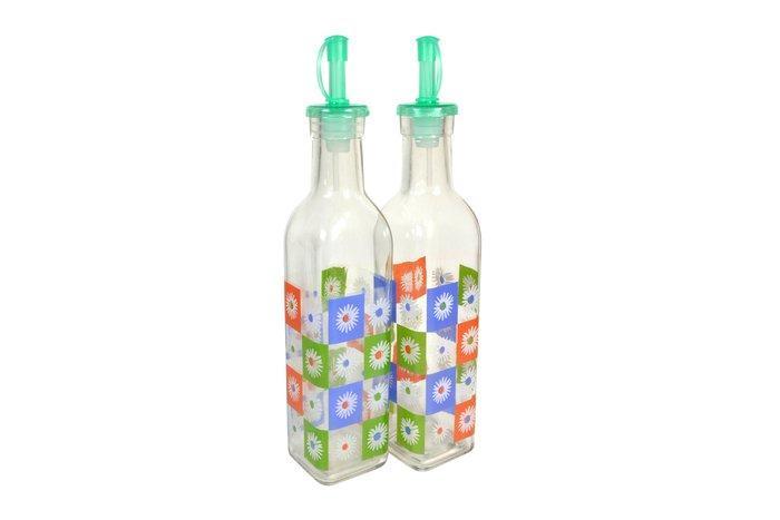 Емкости для уксуса и масла | Бутылки стеклянные для масла и уксуса с гейзерной пробкой 1855