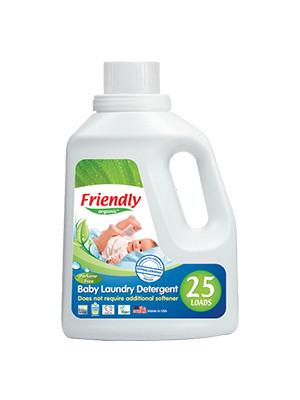 Органический жидкий стиральный порошок-концентрат Friendly organic без запаха 739 мл (25 стирок)