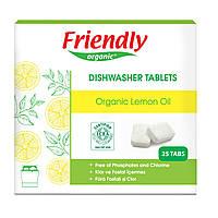Органические таблетки для посудомоечной машины Friendly organic 25 шт
