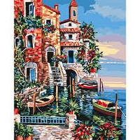 Картина по номерам Город