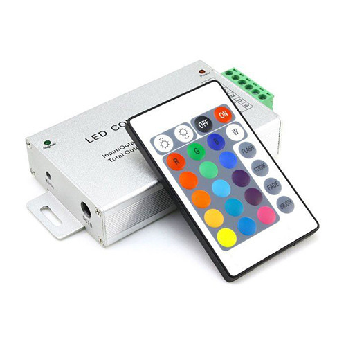 Контроллер BIOM 12В RGB 12А RF кнопочный