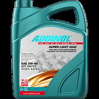 Масло моторное Addinol Super Light 0540 5W-40 5 л.