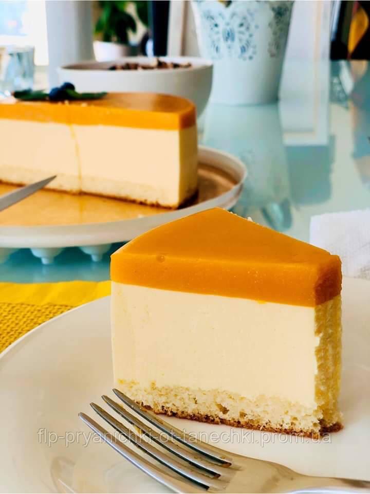 Манговый йогуртовый торт