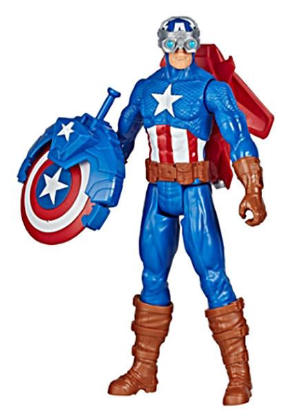 Avengers Набор игровой Мстители Титан Капитан Америка с аксессуарами, E7374