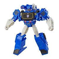 Transformers Кибервселенная: фигурка 14 см Воин Саундвейв, E3637, фото 1