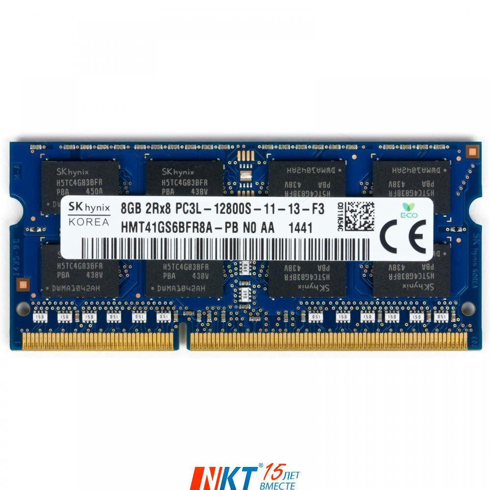 Оперативная память SoDIMM DDR3 8192Mb 1600 MHz Hynix