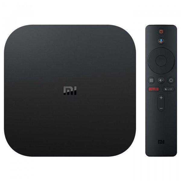 TV Приставка Xiaomi 4K Mi Box S (Международная версия)