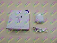 Беспроводные наушники i12 Air Music Pods (аналог) (пр-во TWS)