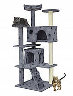 Когтеточка домик дряпка для кошек 130 см, фото 1