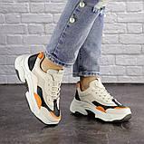 Женские кроссовки Fashion Bailey 1576 36 размер 22,5 см Бежевый, фото 4