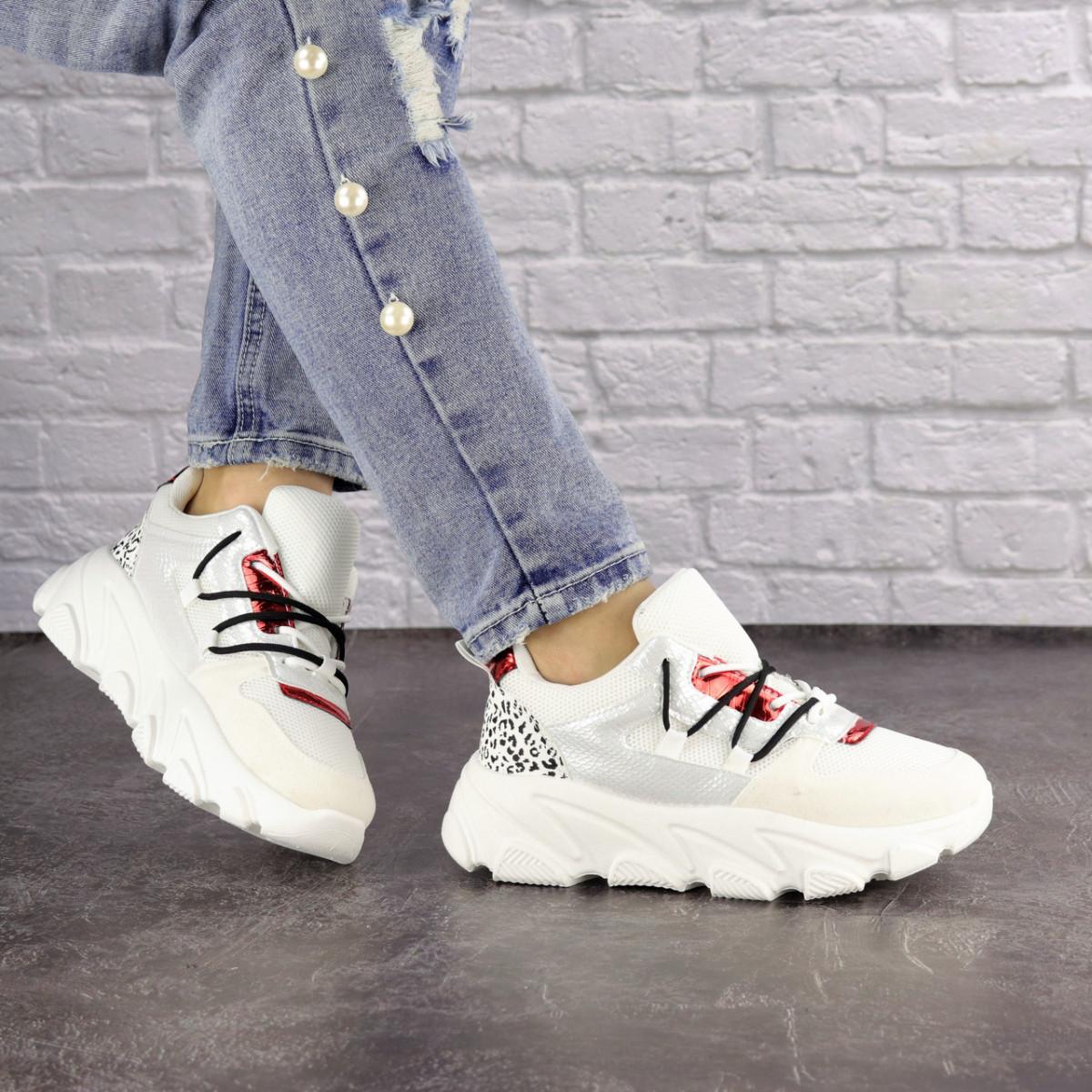 Женские кроссовки Fashion Duncan 1531 38 размер 24 см Белый