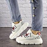 Женские кроссовки Fashion Duncan 1531 38 размер 24 см Белый, фото 2