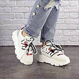 Женские кроссовки Fashion Duncan 1531 38 размер 24 см Белый, фото 3