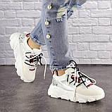 Женские кроссовки Fashion Duncan 1531 38 размер 24 см Белый, фото 4