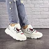 Женские кроссовки Fashion Duncan 1531 38 размер 24 см Белый, фото 7