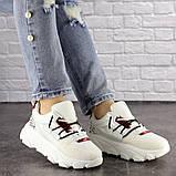 Женские кроссовки Fashion Duncan 1531 38 размер 24 см Белый, фото 8