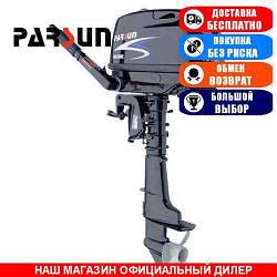 Лодочный мотор Parsun F6A BMS DC. 4-х тактный. 6л/с; (Мотор для лодки Парсун 6);