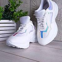 Кроссовки белые Баленсиага